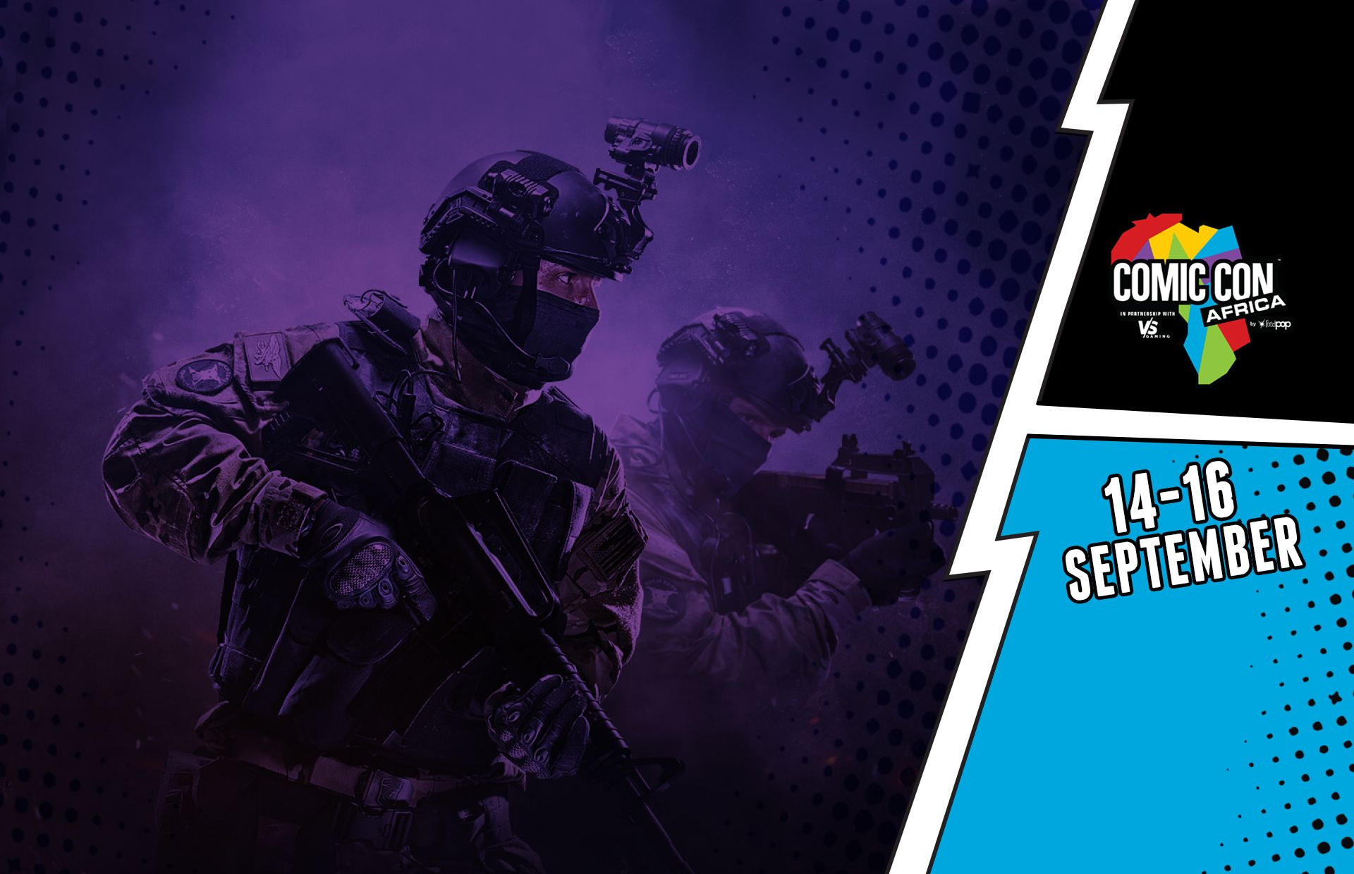 A newbies guide to CS:GO & Comic Con | VS Gaming